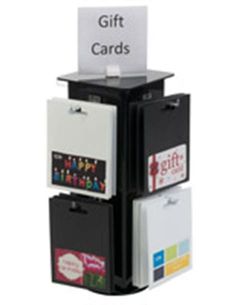 Gift Card Display Rack by Countertop Gift Card Displays Racks