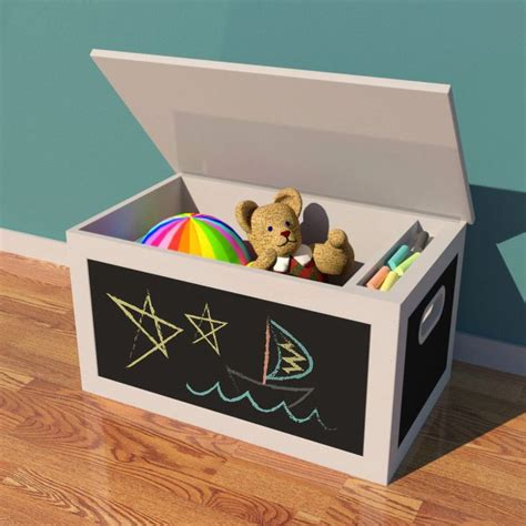 toy box plans chalkboard toy box woodworking plan