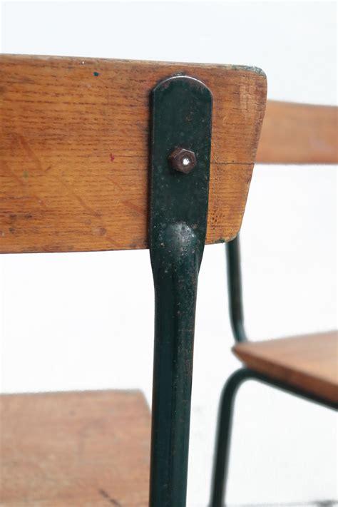 design len jaren 60 vintage design schoolstoelen tubax willy van der meeren
