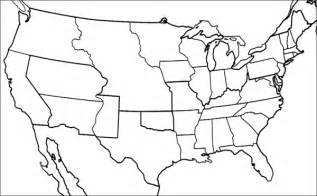 blank map of the us during civil war blank map of united states 1820