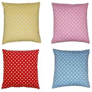 Cushion Covers Polka Dot Cushion Covers 18 X 18 100 Cotton