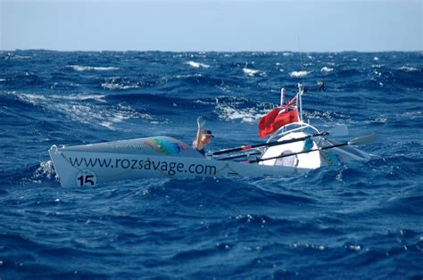 small boat big ocean inspiring individuals roz savage solo ocean rower the