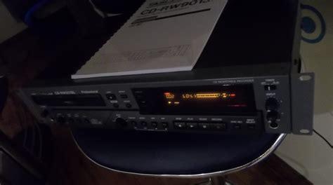format audio cd rw tascam cd rw901sl image 1793462 audiofanzine