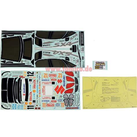 Suzuki Sx4 Aufkleber by Tamiya Aufkleber Suzuki Sx4 Wrc Tt 01 9495544