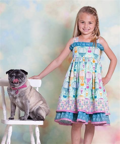 jelly the pug dress jelly the pug aqua air balloon sassy dress