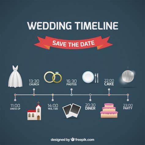 Hochzeitseinladung Timeline by Hochzeit Timeline Sparen Sie Das Datum Der