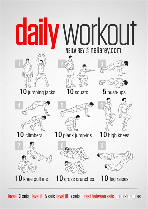 easy workout plans at home workout of the week the quot easy quot daily workout easy