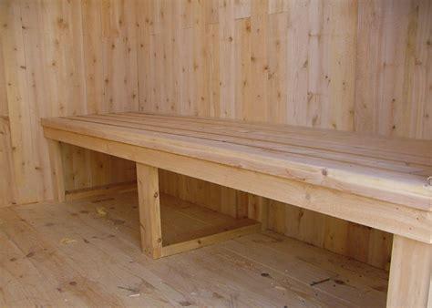 sauna bench design 6x8 sheds 6x8 shed plans post and beam sheds