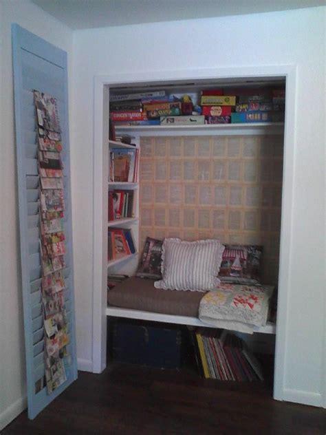 Closet Book Nook closet book nook