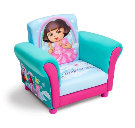 dora recliner chair delta children dora upholstered chair baby toddler