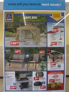 Patio Table Set Clearance Aldi Deals April 18 Low Aldi Prices On Patio Umbrellas