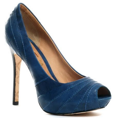 navy blue high heel shoes