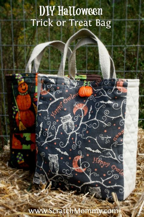 Wyldes Bag Of Tricks Treat Purse by Diy Trick Or Treat Bag Sewing Project