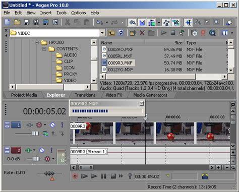 tutorial edit video vegas raylight ultra 1 3 tutorial editing avc intra in sony vegas