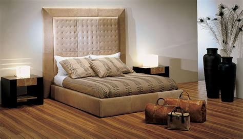 stone bedroom furniture leather upholstered bed by stone international furniture