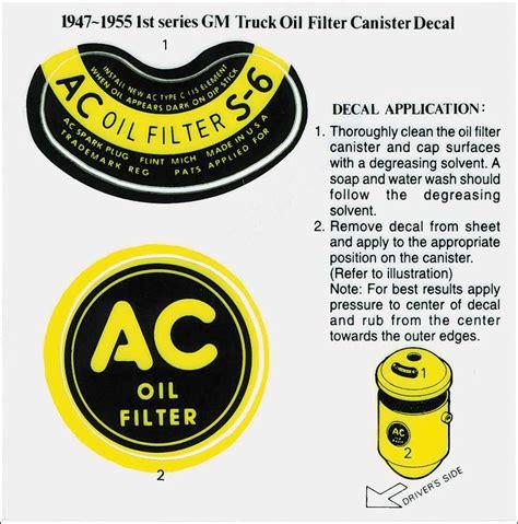 Auto Restoration Decals by Gm Truck Parts Emblems And Decals Restoration Decals