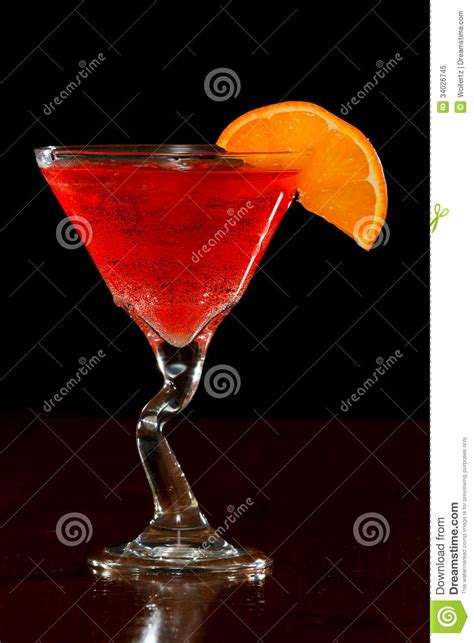 red martini restaurant red cocktail stock image cartoondealer com 35200873