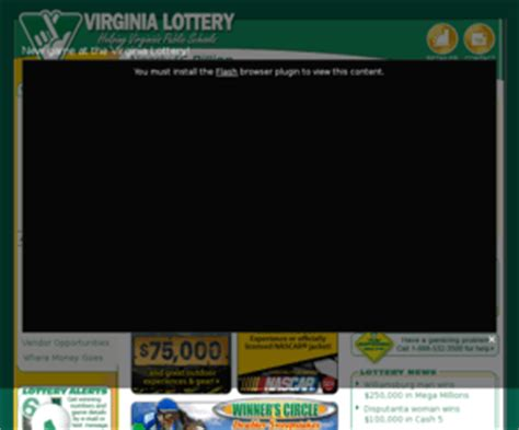 valottery official home of the virginia lottery