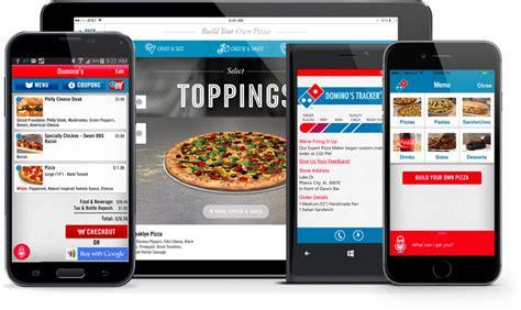 domino pizza app creating a mobile app pmq pizza magazine