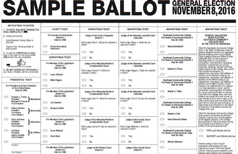 free printable voting ballots just b cause