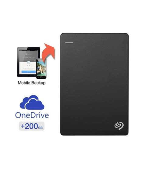 Disk Cloud Storage seagate backup plus fast 4tb external disk with 200gb of cloud storage mobile device