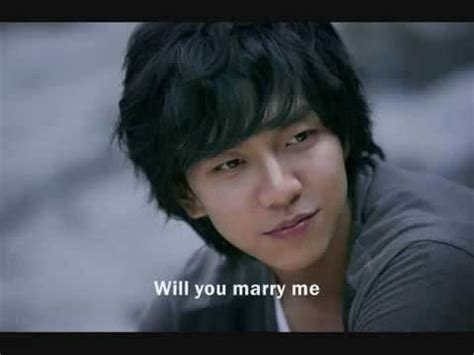 lee seung gi will u marry me youtube lee seung gi feat bizniz will you marry me