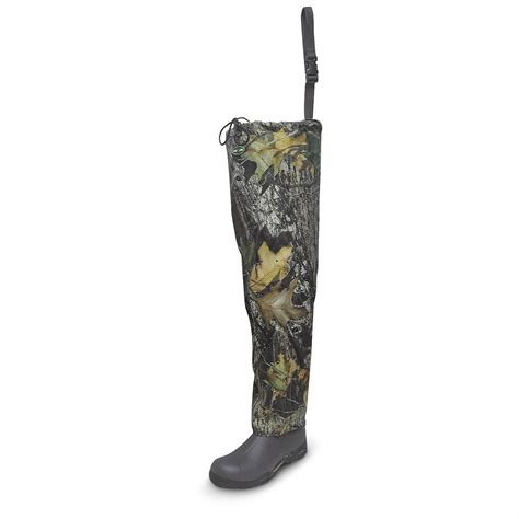 hip mens boots s pro line 174 roll hip boots mossy oak 174 163080