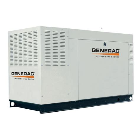 generac 45 000 watt liquid cooled standby generator steel