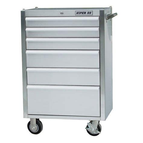 viper tool storage v2606ssr stainless steel 6 drawer
