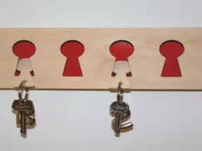 unique key hooks accessories unique design of coat and key rack with wood