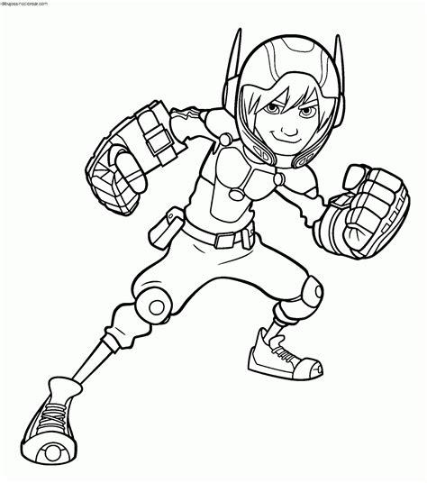 coloring pages big pictures dibujos de personajes de big hero 6 para colorear