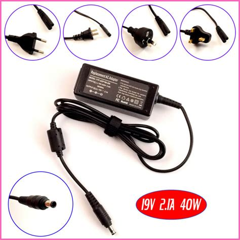 Adaptor Laptop Samsung Nc108 19v 2 1a 5 5 3 0mm With Pin Oem 19v 2 1a 40w laptop ac adapter charger for samsung nb30