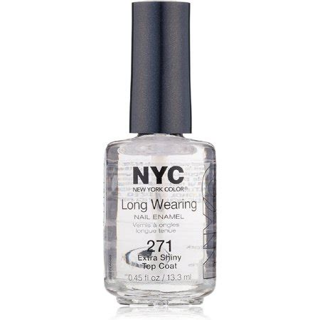 nyc new york color nyc new york color nail 271a shiny top coat