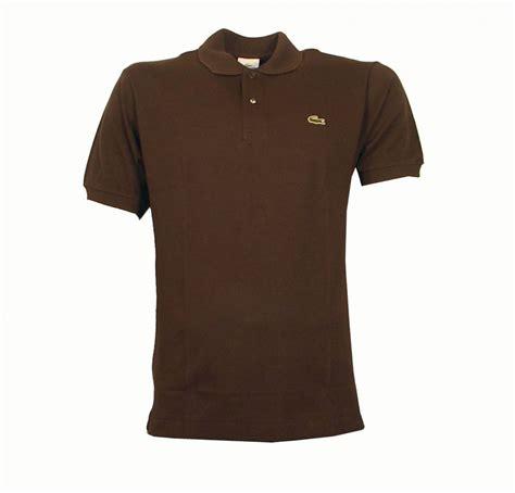 Polo Shirt Locoste lacoste brown polo shirt polo shirts from designerwear2u uk