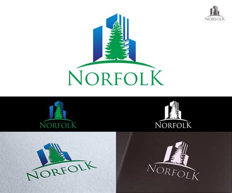Design Engineer Norfolk | logo design for norfolk engineering by ninisdesign