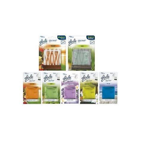 candele glade glade deodorante per ambienti discreet decor assortito