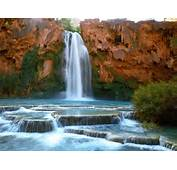 Surprising Places ARIZONA  USA Havasu Waterfall