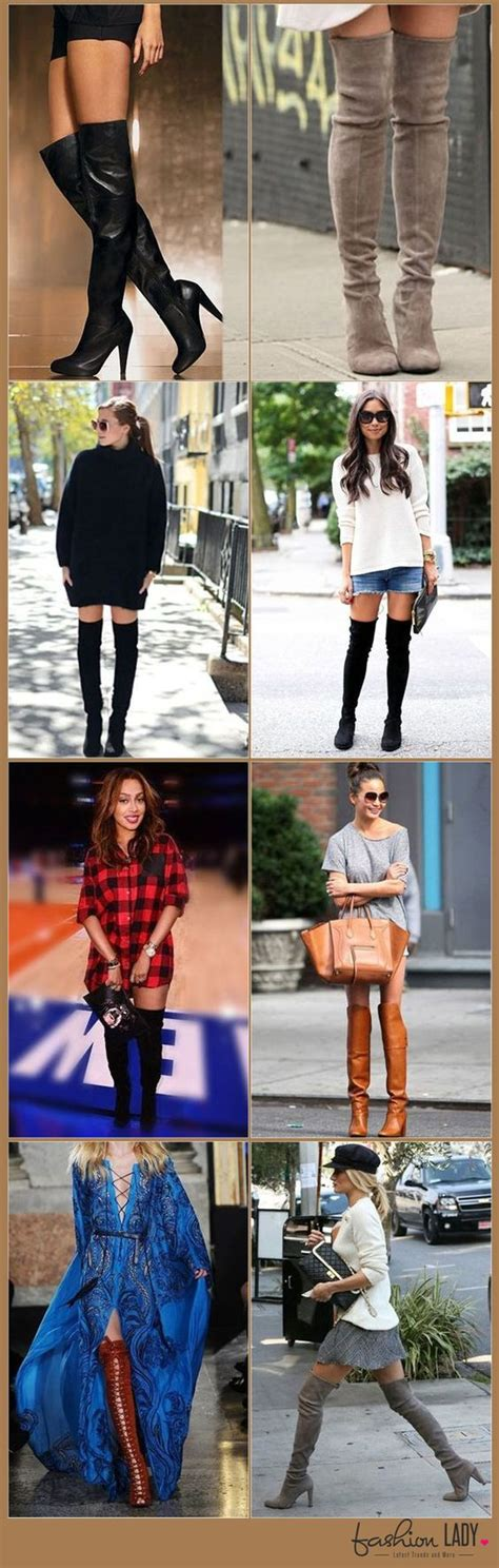 5 Ways To Look Beautiful In Boots by 20 Ways To Wear The The Knee Boots Now Look In Them