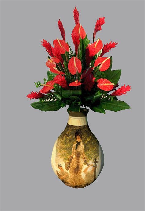 Vases And Flowers by Flower And Vase Repulse
