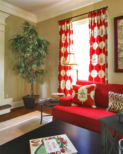 red curtains in living room impressive bright red curtain panels decorating ideas