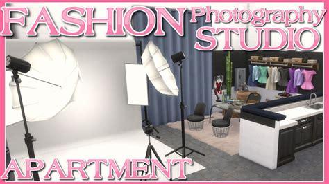 design fashion in a fashion studio sims the sims 4 fashion photography studio apartment speed