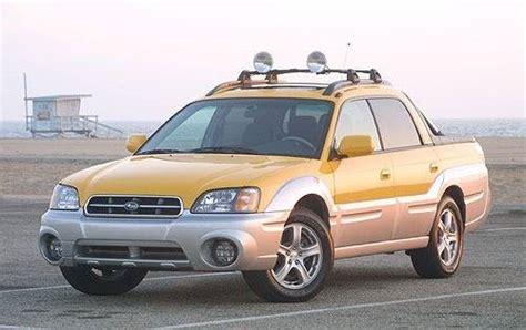 subaru baja 2002 2006 pickup outstanding cars