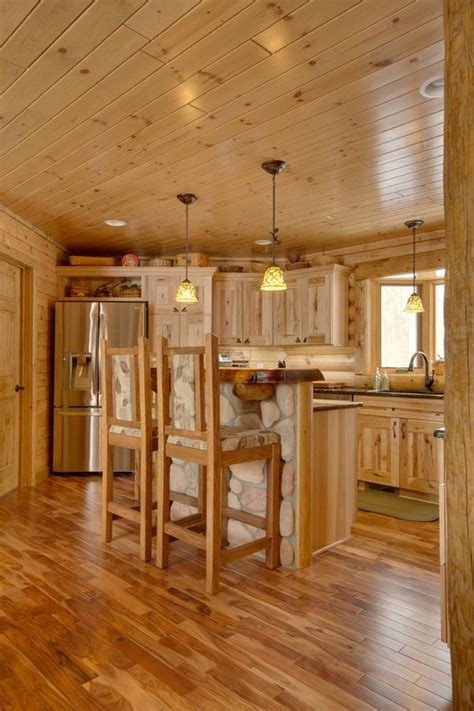 kitchen cabinets and flooring rustic kitchen design ideas hickory cabinets hardwood