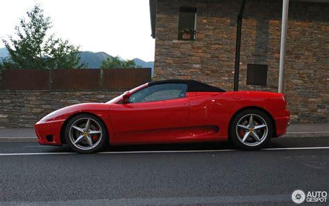 Ferrari 360 Spider by Ferrari 360 Spider 26 Oktober 2016 Autogespot
