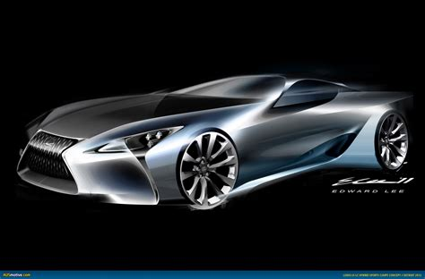 lexus lf lc black ausmotive com 187 detroit 2012 lexus lf lc concept