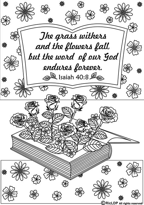 scripture coloring pages 15 printable bible verse coloring pages verses bible