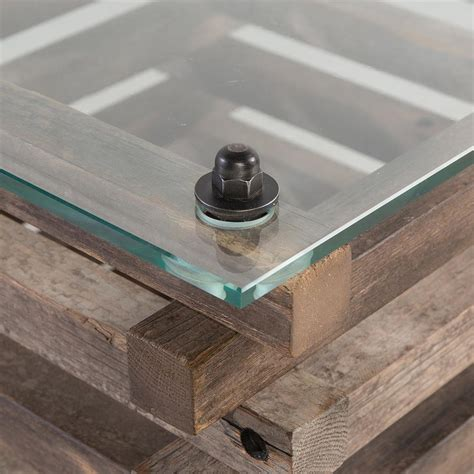 Rustic Glass Coffee Table Rustic Lodge Glass Top Log Coffee Table Kathy Kuo Home