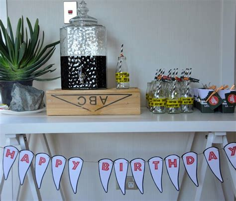jurassic park themed birthday party little big company the blog a jurassic park themed