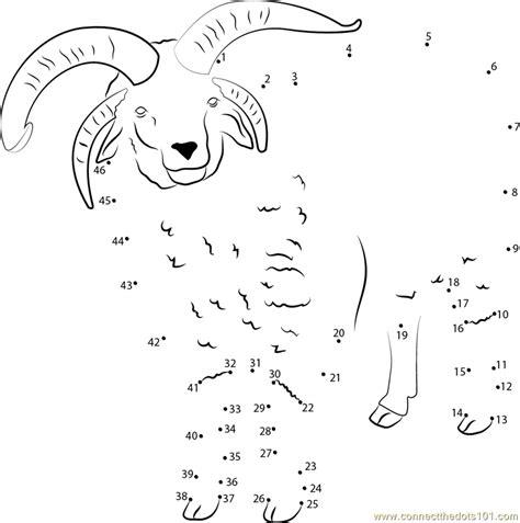 printable dot to dot sheep sheep see dot to dot printable worksheet connect the dots