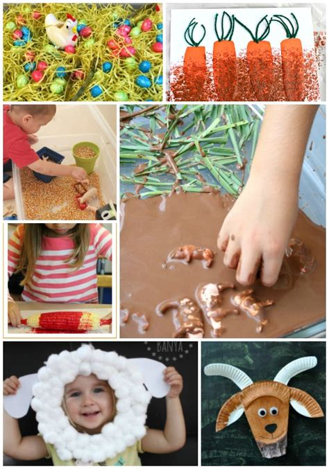 farm crafts for farm animal crafts and sensory activities giveaway